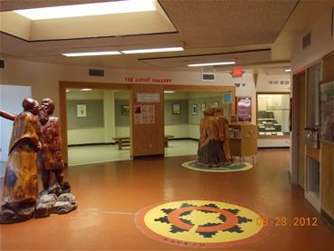 Inside Red Rock Museum