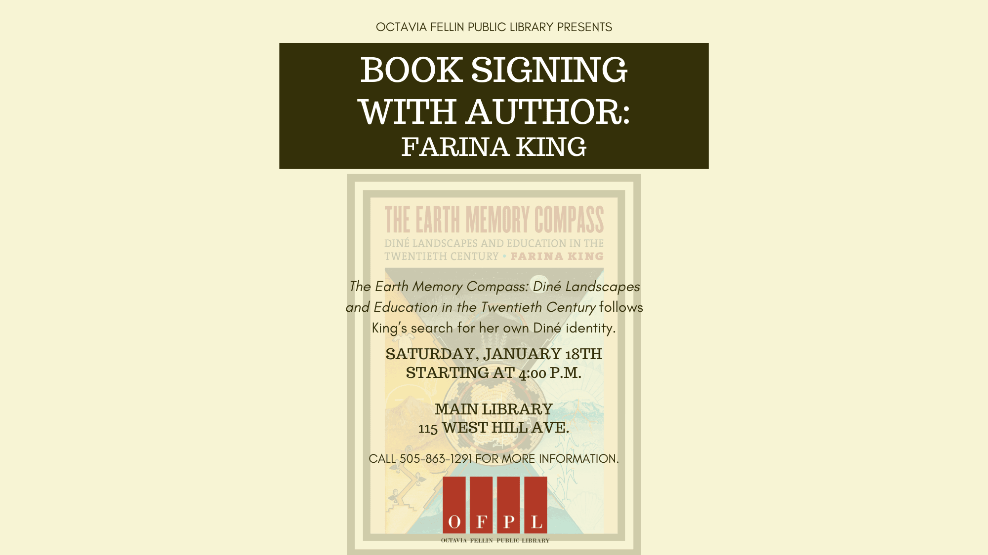 Book Signing with Author