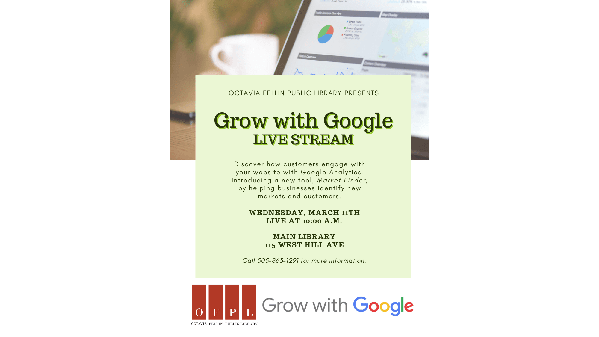 Grow with Google LIVE STREAM