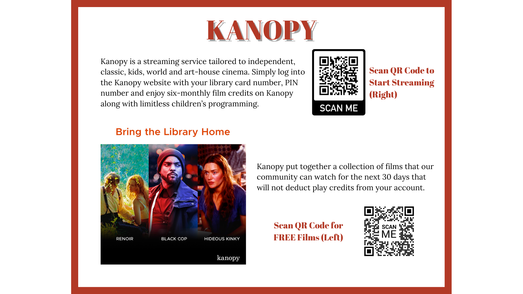 kanopy - Online Resources